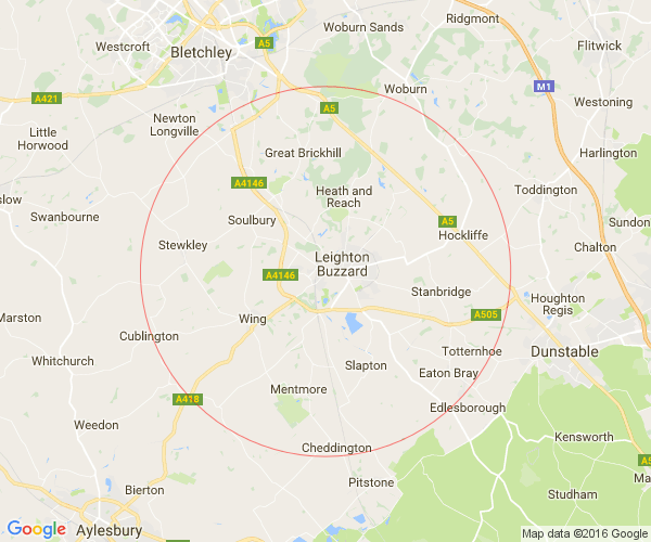 Yirrells Delivery Map